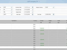 Screenshot LPC UI5 Report Fiori Launchpad